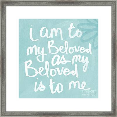 Beloved Framed Print by Linda Woods