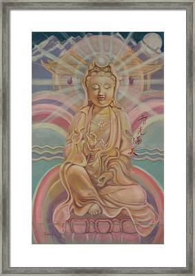 Beloved Quan Yin Framed Print