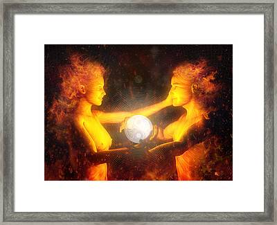 Beloved Framed Print by Robby Donaghey
