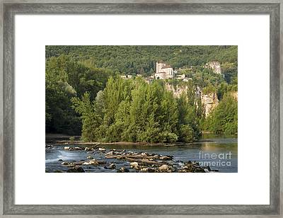 Below Saint Cirq Framed Print