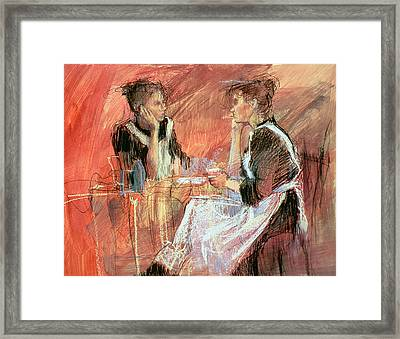 Below Stairs  Framed Print