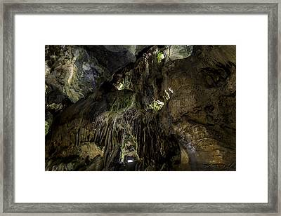 Below Framed Print
