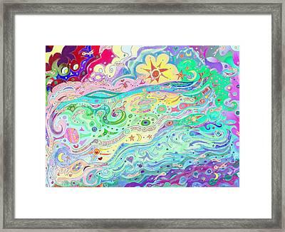 Beltaine Seashore Dreaming Framed Print