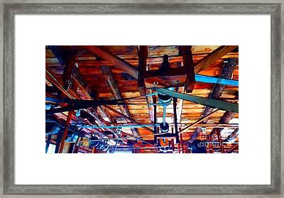 Beltworks Framed Print