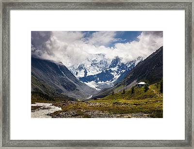 Belukha Mountain. Altay. Russia Framed Print
