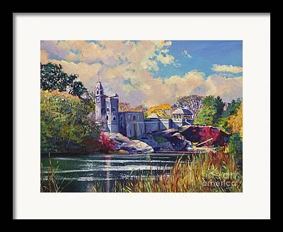 Belvedere Castle Framed Prints