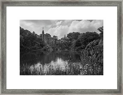 Belvedere Castle Central Park Nyc  Framed Print