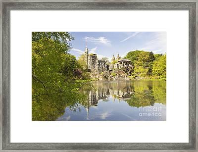 Belvedere Castle In Central Park Framed Print