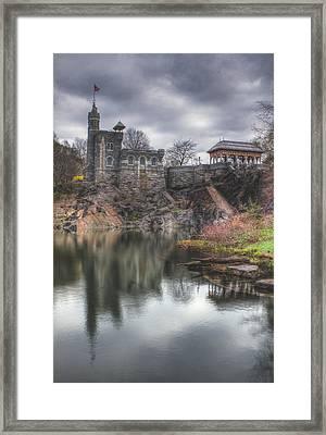 Belvedere Castle Vertical Framed Print by Ariane Moshayedi
