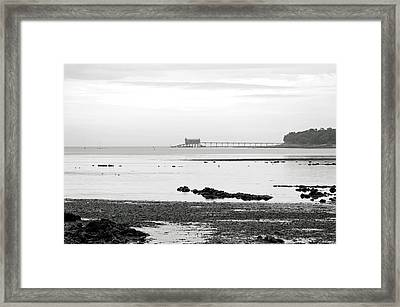 Bembridge Lifeboat Station From St Helens Framed Print by Rod Johnson