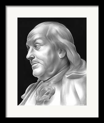 Statesman Drawings Framed Prints