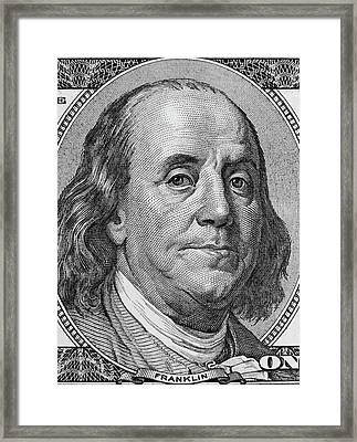 Framed Print featuring the photograph Ben Franklin by Les Cunliffe