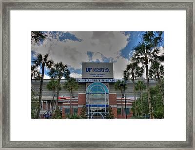 Ben Hill Griffin Stadium Framed Print by Dean Traiger