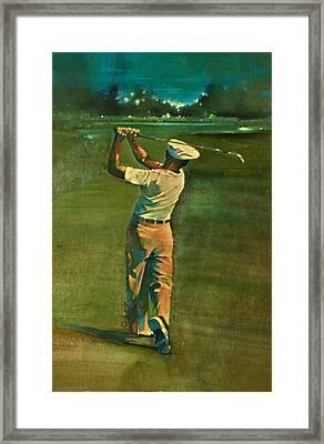 Ben Hogan  Framed Print by David Kilmer
