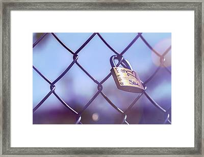 Ben Is In Love Framed Print by Bob Orsillo