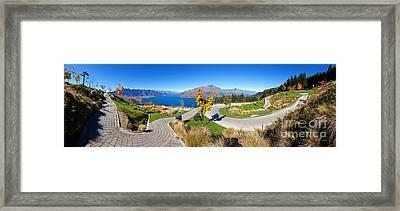 Ben Lomond Scenic Reserve New Zealand Framed Print