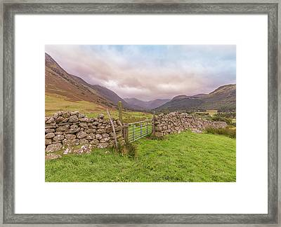 Ben Nevis Mountain Range Framed Print by Roy McPeak