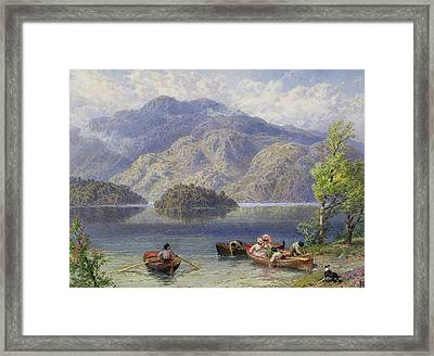 Ben Venue And Ellen's Isle, Loch Katrine Framed Print