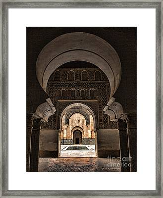 Ben Youssef IIi Framed Print by Chuck Kuhn