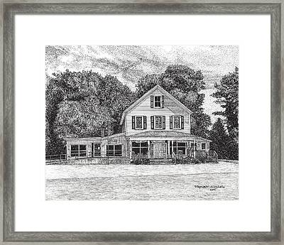 Bena Country Store Framed Print by Stephany Elsworth