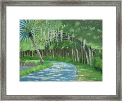Bend In The Road No. 2 Framed Print by Robert Rohrich