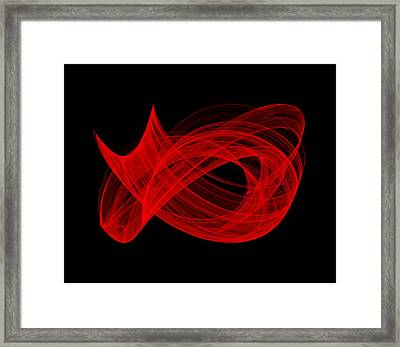 Bends Through II Framed Print