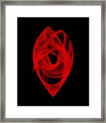 Bends Unraveling I Framed Print