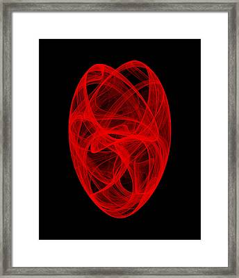 Bends Unraveling II Framed Print