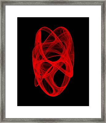 Bends Unraveling Iv Framed Print