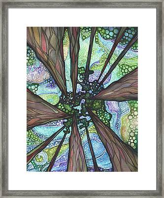 Beneath Magic Framed Print