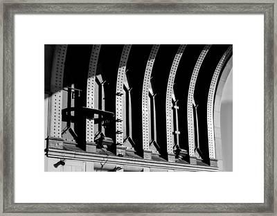 Beneath The Bridge Framed Print by Christi Kraft