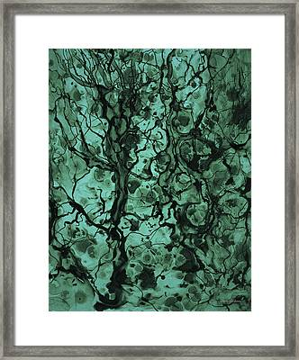 Beneath The Surface Framed Print by David Gordon