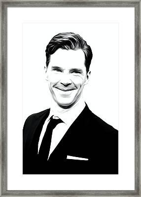 Benedict Cumberbatch Print Framed Print by Best Actors