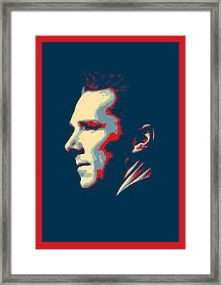 Benedict Cumberbatch - Sherlock Holmes Framed Print by Semih Yurdabak