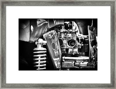 Benelli 750 Sei Detail Framed Print