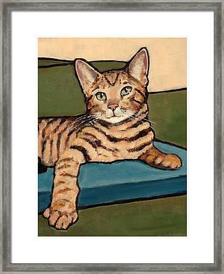 Bengal Cat Framed Print