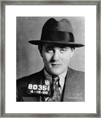 Benjamin Bugsy Siegel Framed Print