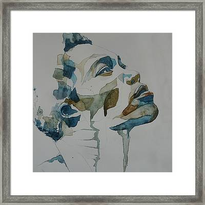 Benjamin Clementine Framed Print