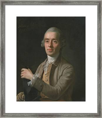 Benjamin Cole Framed Print by Nathaniel Hone