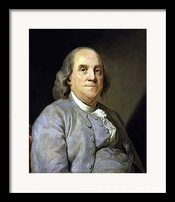 U S Founding Father Framed Prints