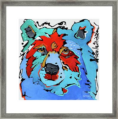 Benjamin The Bear Framed Print