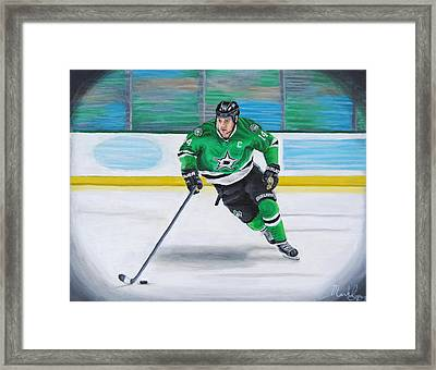 Benn And The Art Framed Print