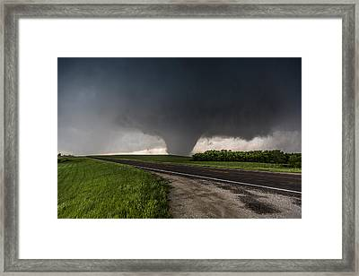 Bennington Kansas Wedge Framed Print