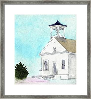 Bennington No. 4 School Framed Print by R Kyllo