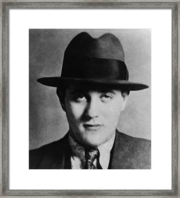 Benny Bugsy Siegel 1906-1947, Partnered Framed Print