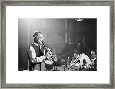Benny Goodman Orchestra  Framed Print