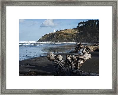 Benson Beach And North Head Framed Print
