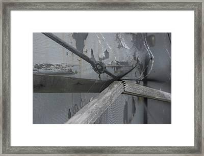 Bent And Broken II Framed Print