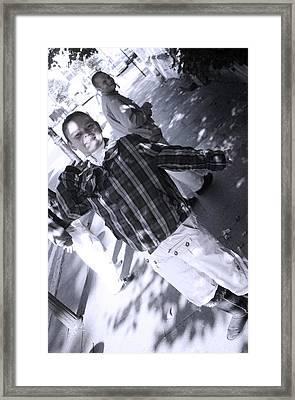 Bent Back 2 Framed Print by Jez C Self