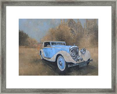 Bentley By Kellner Framed Print by Peter Miller